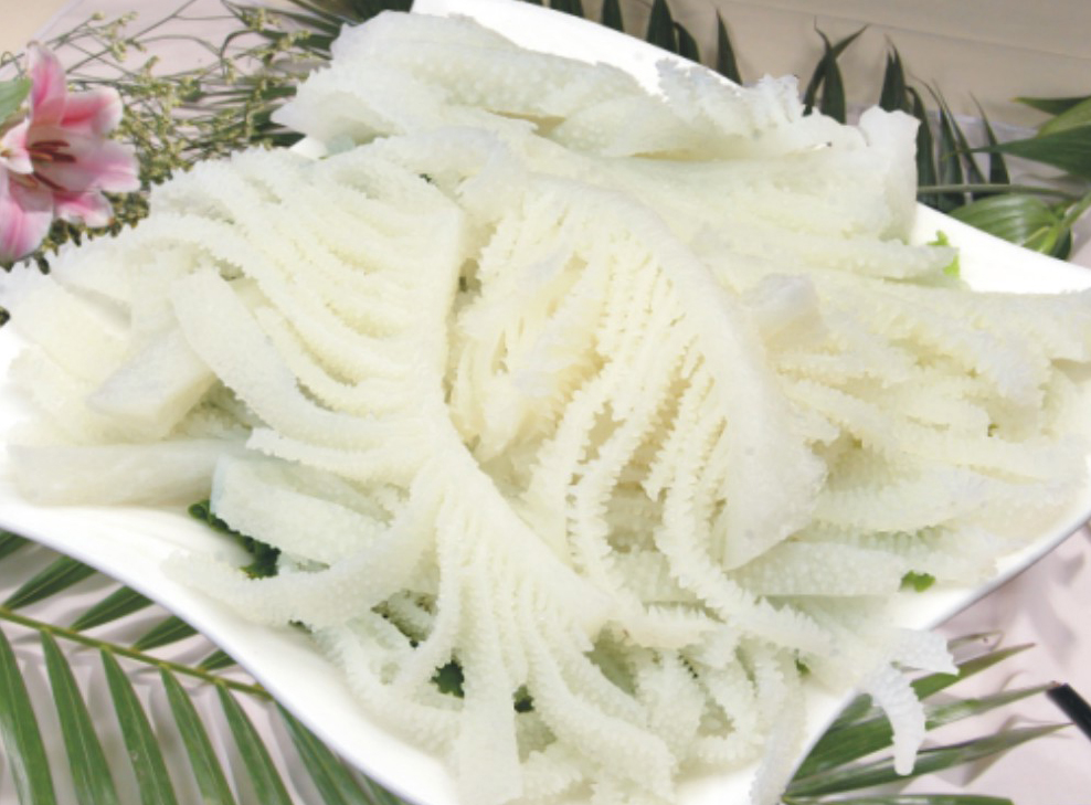 水发牛百叶(肉质新鲜,无异味)图片
